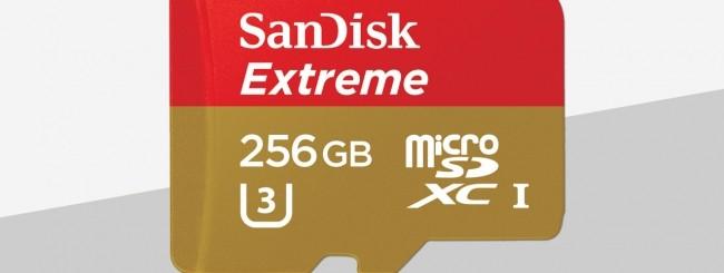SanDisk Extreme microSDXC UHS-I 256 GB