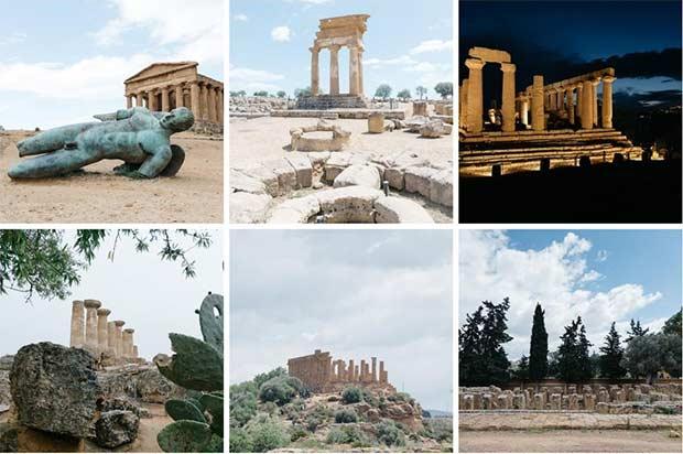 Alcune delle meraviglie architettoniche e archeologiche della Valle dei Templi disponibili per un tour virtuale su Google Cultural Institute e Street View