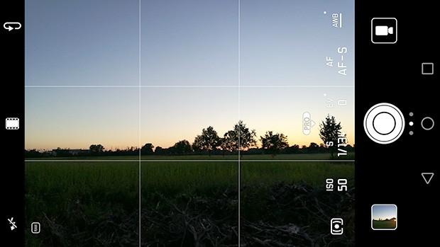 I comandi manuali per la doppia fotocamera posteriore di Huawei P9 Plus