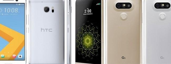 LG G5 - HTC 10