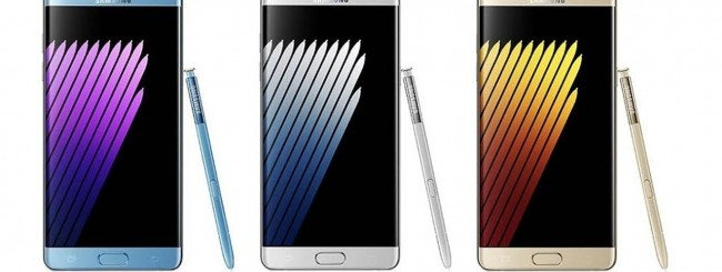 Samsung Galaxy Note 7 leak