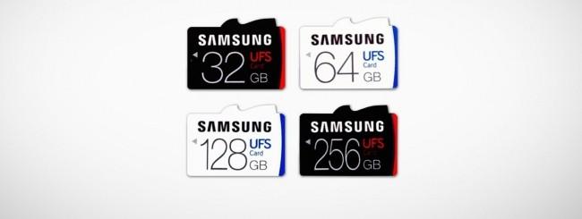 Samsung memory card UFS