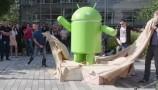Android 7.0 Nougat: la statua nella sede di Google