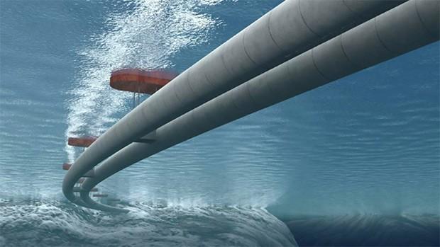 Il tunnel fluttuante sottomarino, progettato per innovare la mobilità norvegese