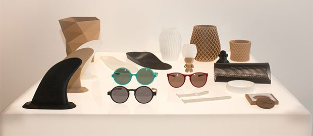 Alcuni degli oggetti che è possibile realizzare in 3D con la stampante Pollen Pam
