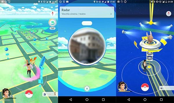 Pokémon Go, gameplay avanzato