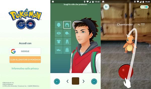 Pokémon, gameplay iniziale