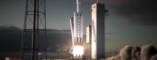 Il razzo Falcon Heavy di SpaceX