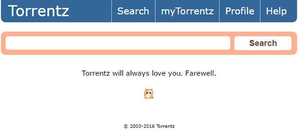 Il messaggio di addio di Torrentz.eu