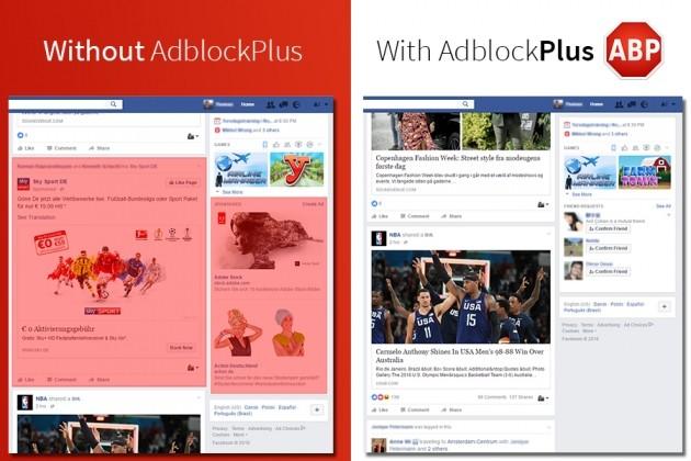 Filtro Adblock Plus - Facebook