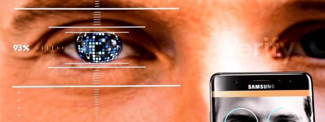 Galaxy Note 7 - Iris scanner
