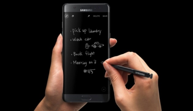 Galaxy Note 7 - S Pen Always On Display