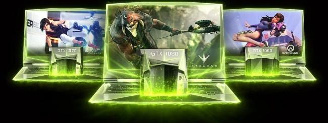 Nvidia GeForce GTX 10 per notebook