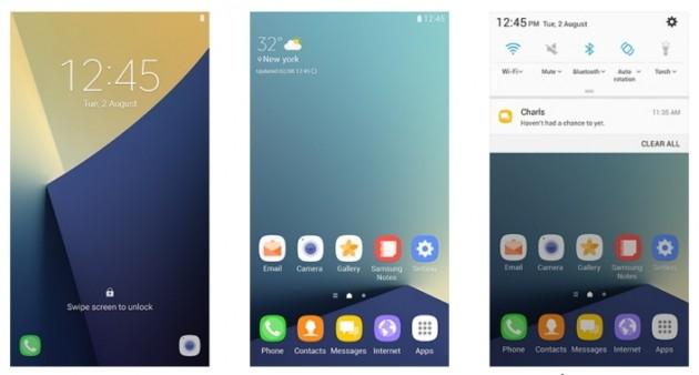 Samsung Galaxy Note 7 TouchWiz
