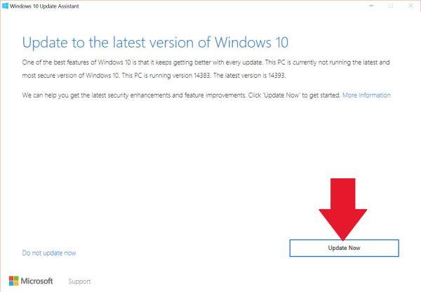Windows 10 Anniversary Update, forzare l'upgrade
