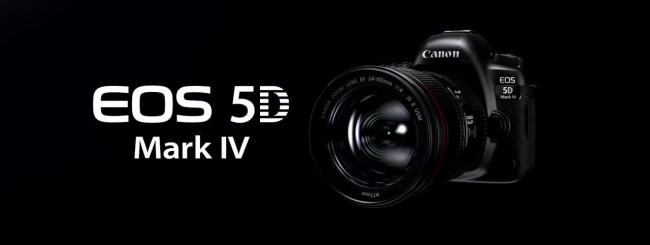 La nuova reflex Canon EOS 5D Mark IV