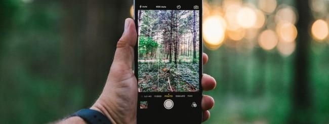 iPhone, fotocamera
