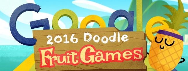 2016 Doodle Fruit Games