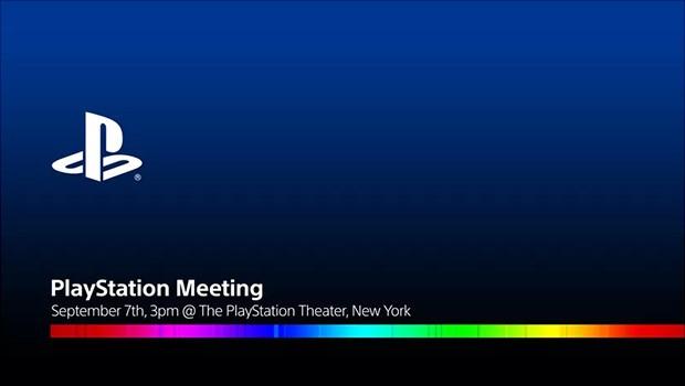 L'invito recapitato alla stampa per l'evento PlayStation del 7 settembre