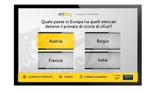 Quiz Eni al meeting di Rimini