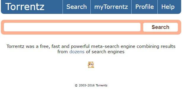 Il messaggio che compare sulla homepage di Torrentz.eu, annunciandone la chiusura