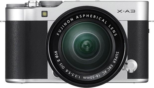 La fotocamera mirrorless Fujifilm X-A3