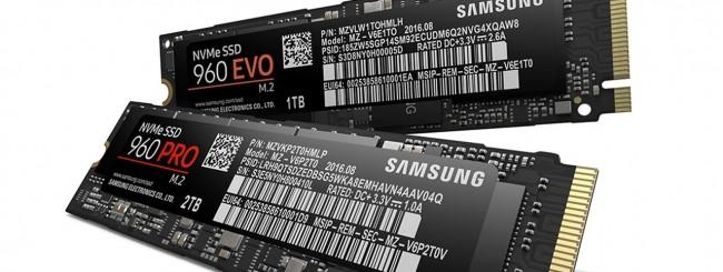 Samsung SSD 960 PRO - 960 EVO