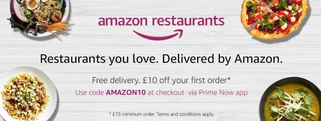 Amazon Restaurants