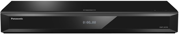 Il lettore BD Ultra HD Panasonic UB700