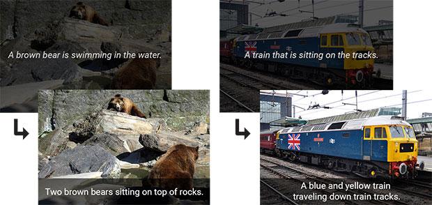 I miglioramenti apportati da Google al sistema di intelligenza artificiale in grado di aggiungere didascalie alle foto