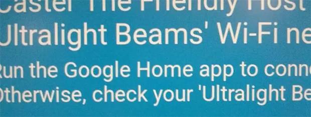 Il messaggio che sembra anticipare l'integrazione tra Google Home e Chromecast