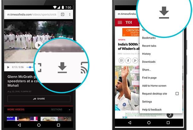 La nuova funzionalità introdotta da Google su Chrome per Android, dedicata al salvataggio dei contenuti nella memoria interna per la consultazione offline