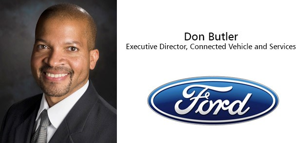 Don Butler, Executive Director, Connected Vehicle and Services di Ford Motor Company.