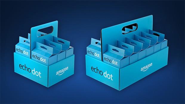 I multipack da sei o dodici unità di Amazon Echo Dot, per chi vuole risparmiare
