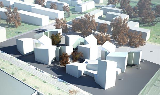 Un concept per il progetto Future Living Berlin
