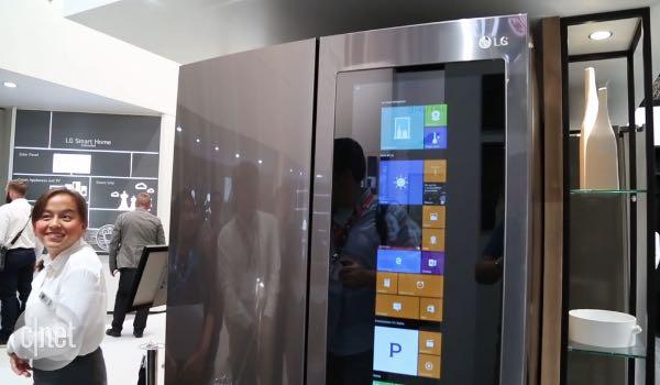 IFA 2016, da LG un frigo smart con Windows 10