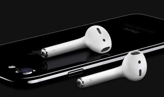 iPhone 7 e AirPods