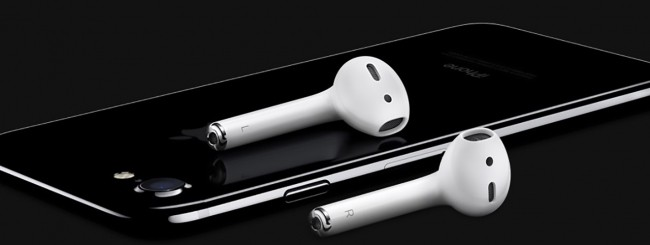 iPhone 7 e AirPods