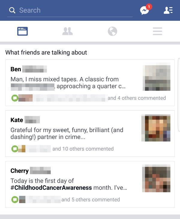 Facebook testa gli highlights nel News Feed
