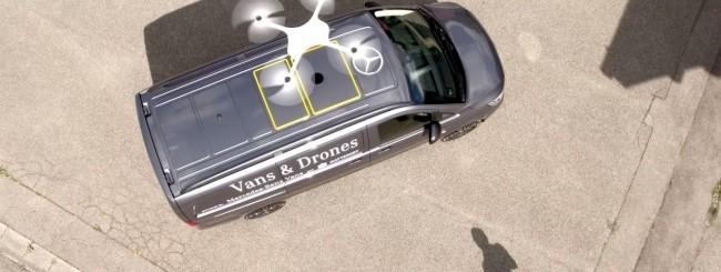 Mercedes: droni per le consegne porta a porta