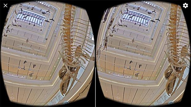 Una passeggiata nel MUSE di Trento con la realtà virtuale