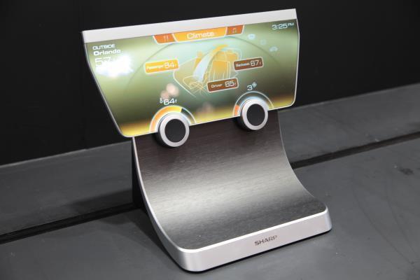 I nuovi display IGZO di Sharp