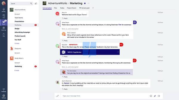 Microsoft lavora ad un'alterativa a Slack