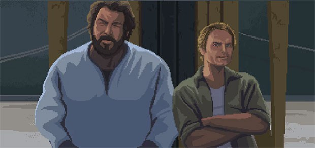 Uno screenshot per il gameplay del gioco Bud Spencer & Terence Hill: Slaps And Beans