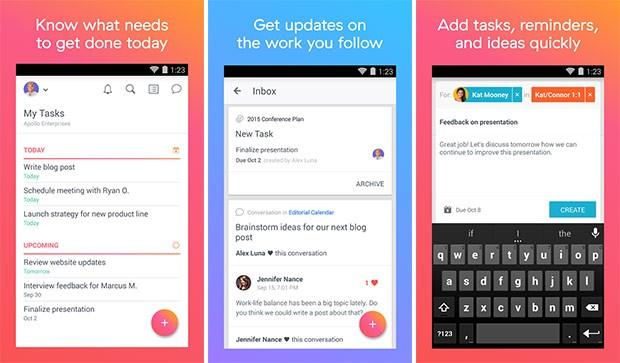 Screenshot per l'applicazione Asana: Team Tasks & Projects