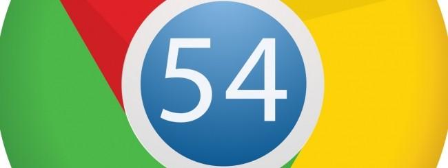 Chrome 54