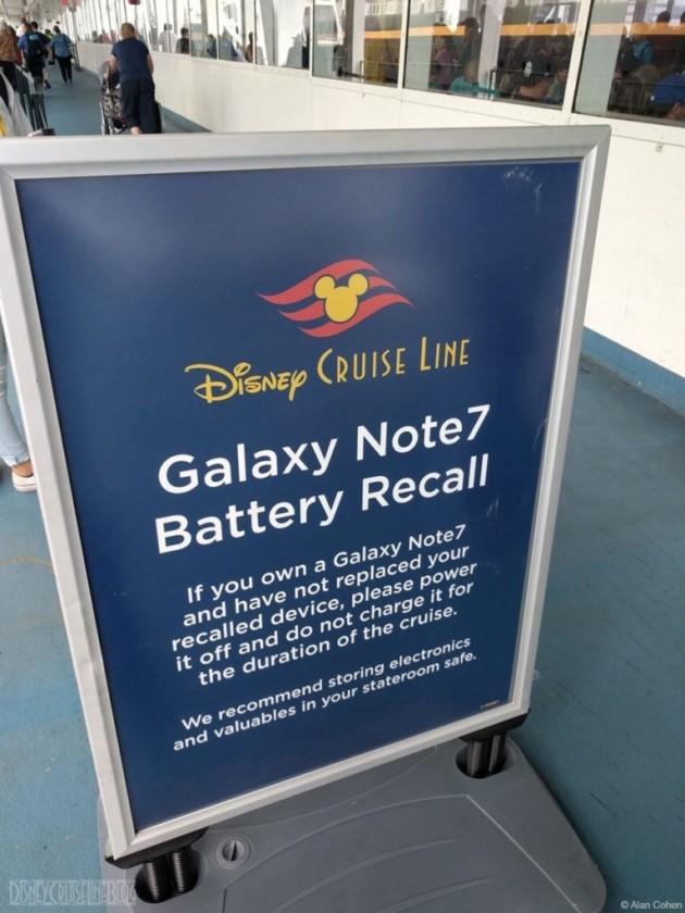 Avviso Galaxy Note 7