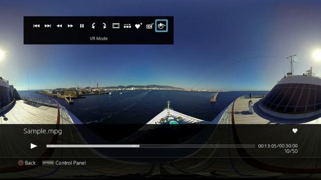 Media Player PSVR