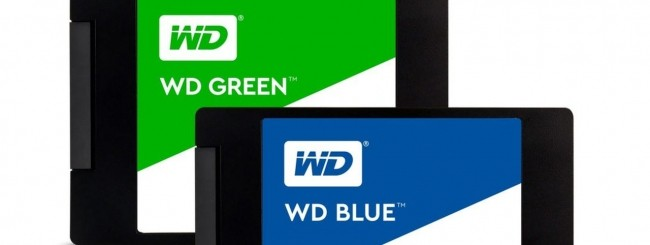 WD SSD Blue -Green