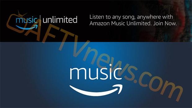 Una prima immagine per il servizio Amazon Music Unlimited
